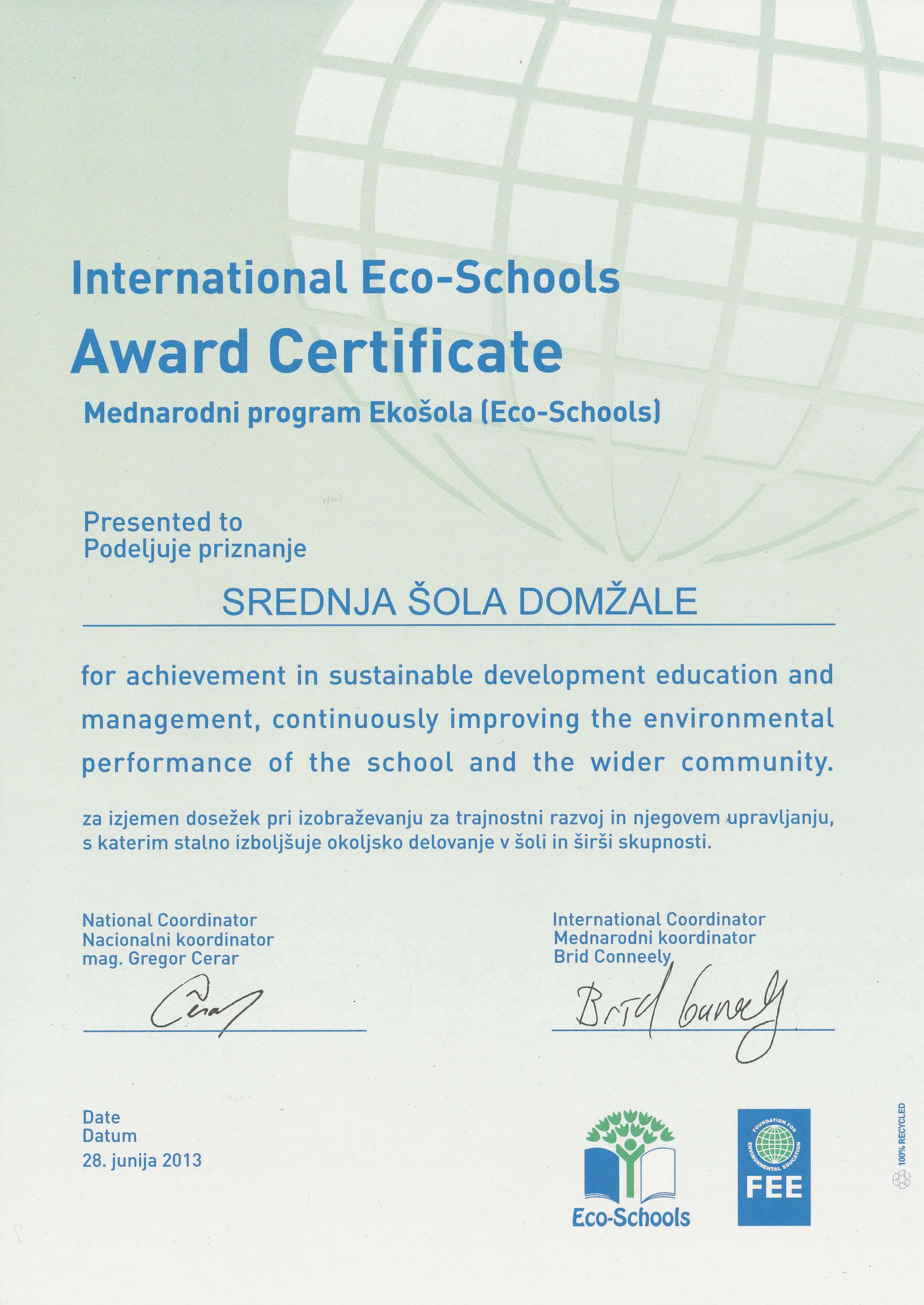 certifikatES
